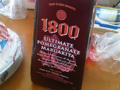 1800 ultimate pomegranate margarita | South Bay Foodies